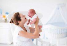 آرام کردن گریه در نوزادان