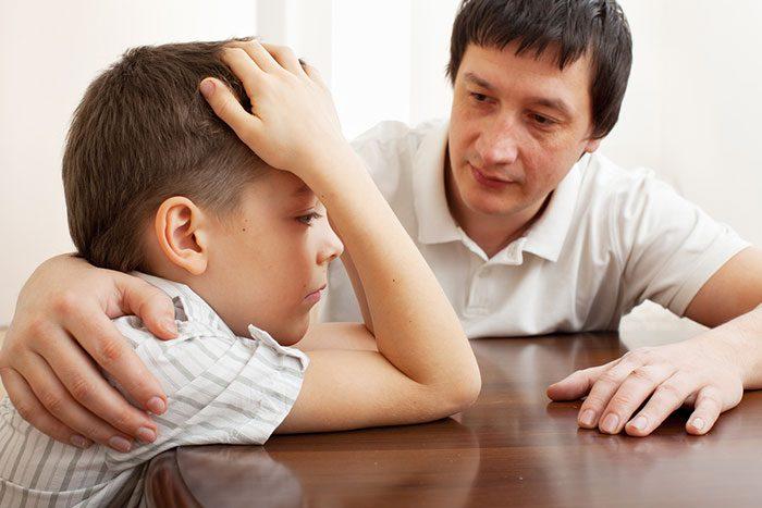نصیحت کردن کودک