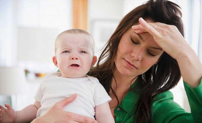 آرام کردن گریه کودک
