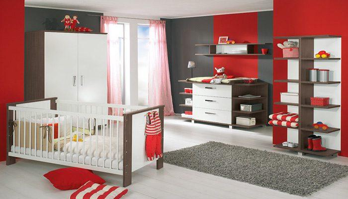 اتاق خواب قرمز برای کودک