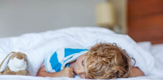 آموزش خواب به کودکان