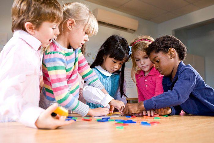 مشارکت و کار گروهی در کودکان