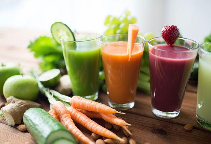 آب سبزیجات تازه