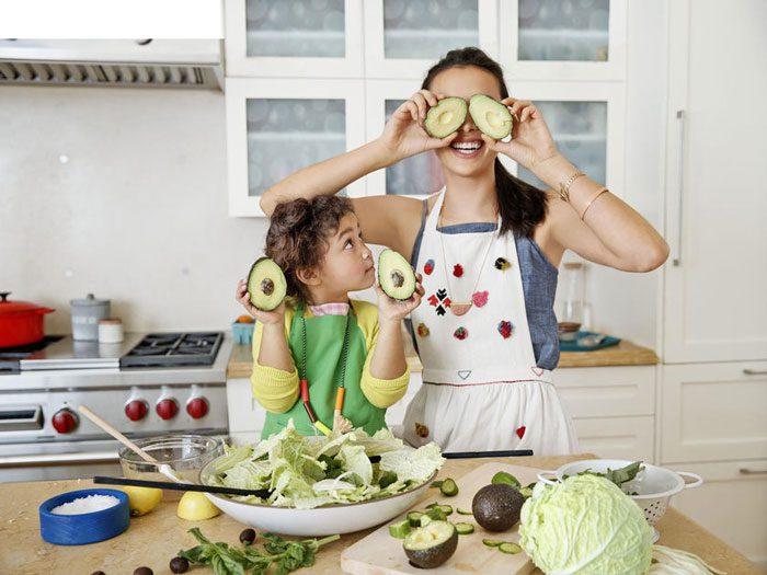 مزایای آشپزی با کودک
