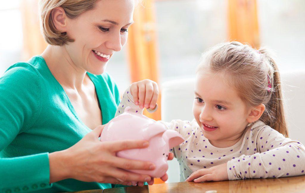آموزش پول به کودکان