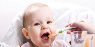 تغذیه کودکان در سنین مختلف