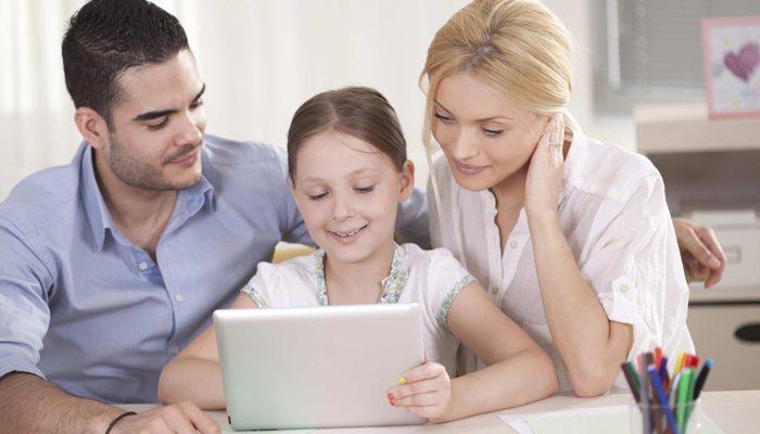 تعامل والدین با یکدیگر