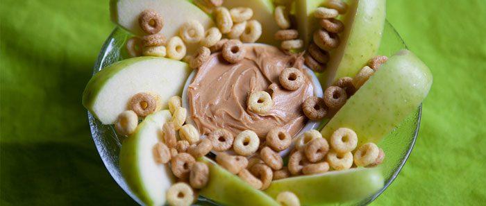 تزئين میان وعده های سالم - عادت غذایی
