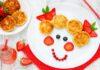 تزئین میان وعده های غذایی سالم