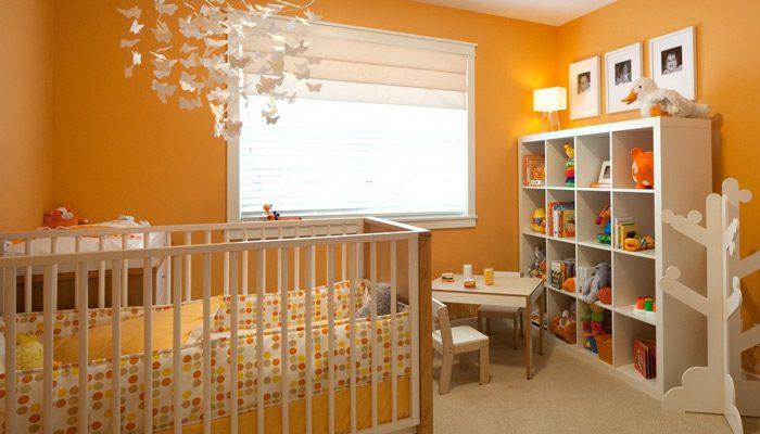 بهترین رنگ ها برای اتاق خواب کودک