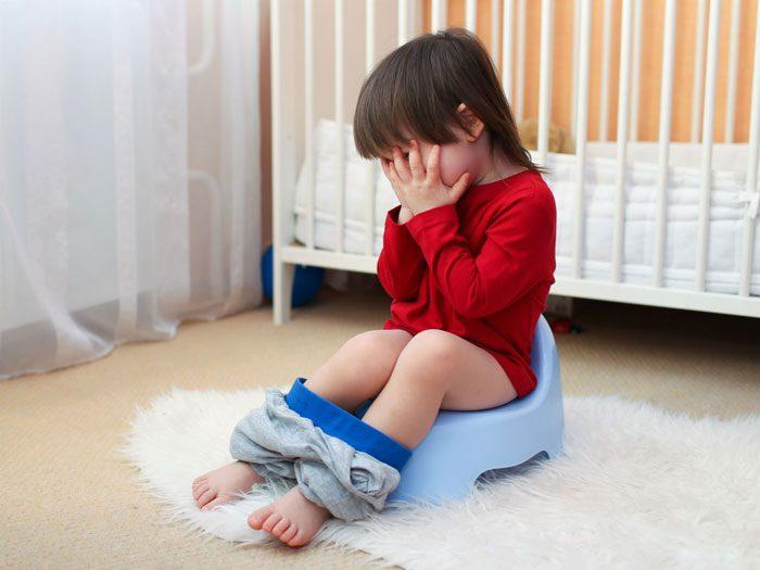 مدفوع کردن کودک - یبوست
