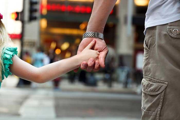 دادن حس امنیت به کودک