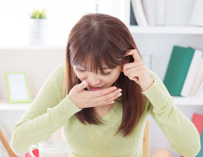 نشانه های بارداری - نفخ معده