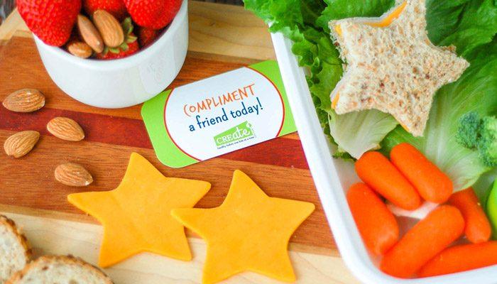 برای کودکتان در ظرف غذایش پیامی بگذارید.