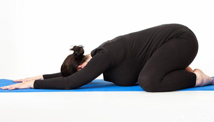 درمان کمر درد در دوران بارداری
