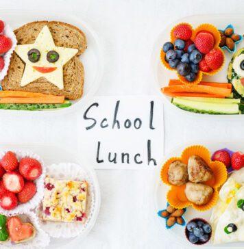 تغذیه های خوشمزه در مدرسه