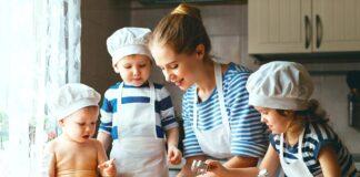 مزایای آشپزی با کودکان