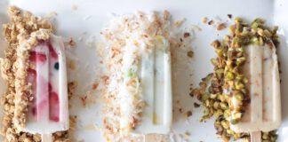 دستور غذایی کودکت ؛ بستنی ماست و میوه