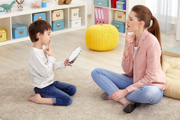گفتار درمانی در اوتیسم