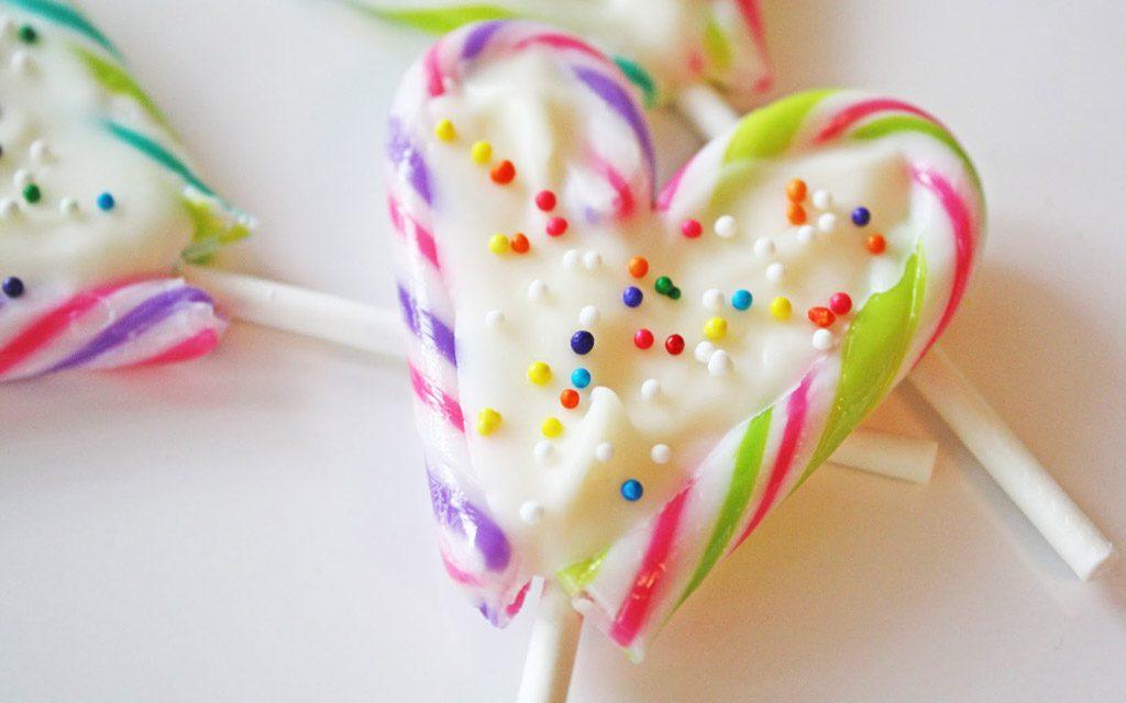آشپزخانه کودکت؛ شکلات آبنبات عصایی