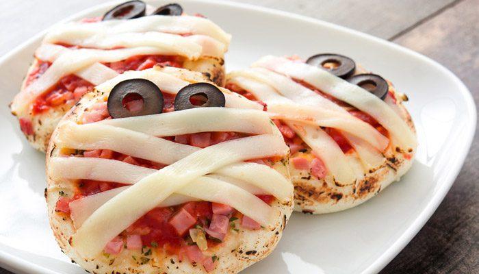 ۴. پیتزای مومیایی کوچک