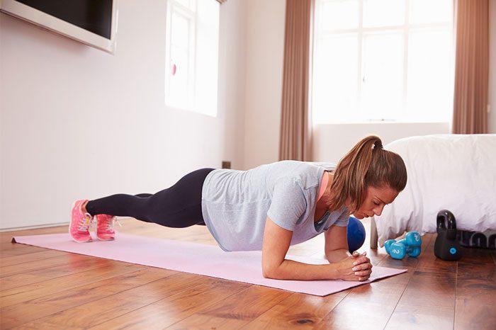 ورزش کردن مادران - وزنه ها