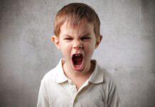 کودک عصبانی
