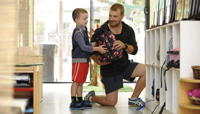 کاهش اضطراب روز اول مهد کودک