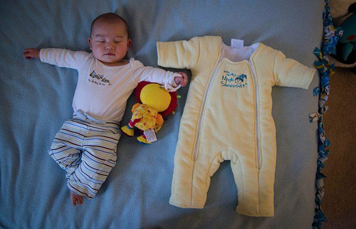 پسرفت خواب نوزاد