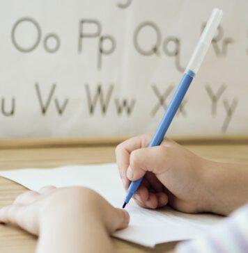 اختلال بیان نوشتاری