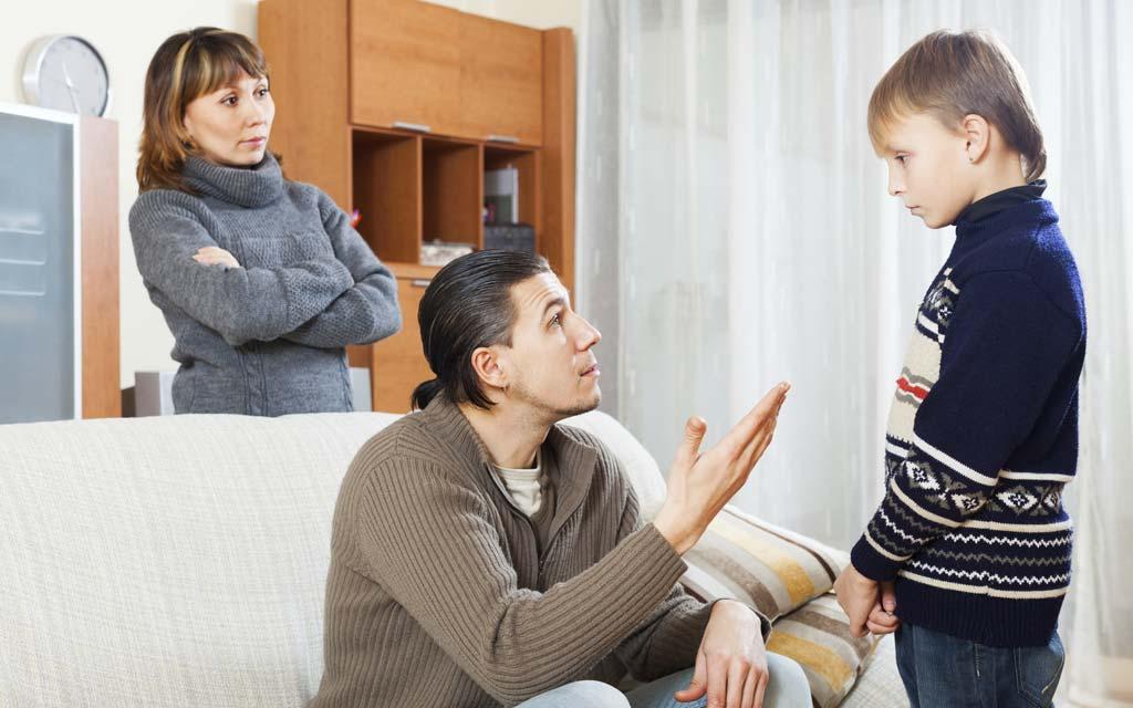 ۱۰ روش تربیت کودک بدون تنبیه