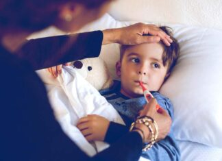 سینه پهلو در کودکان