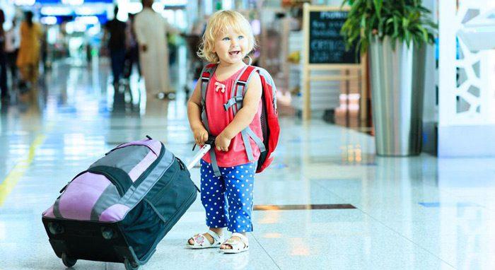 سفر هوایی با کودک