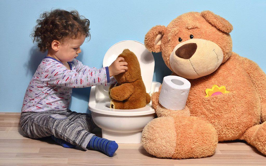 پسرفت دستشویی در کودکان
