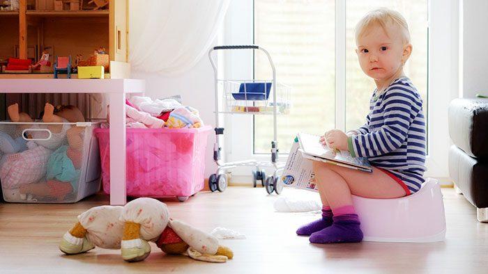 آموزش دستشویی کودکان