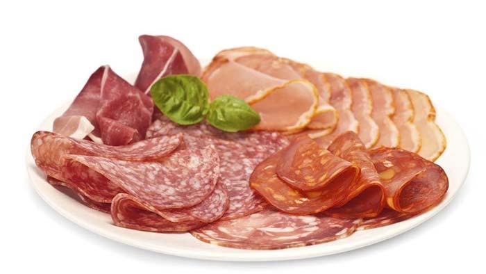 گوشتهای نیمه پخته یا فرآوری شده