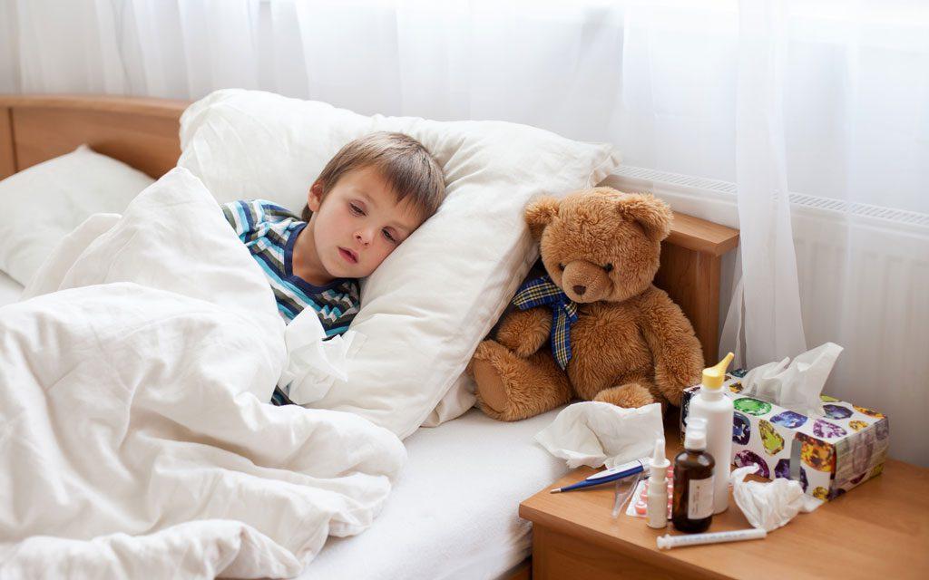 مراقبت از کودک بیمار و نکات مفیدی برای والدین در این زمینه