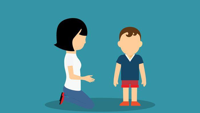 صحبت کردن کودکان در جمع - کنترل