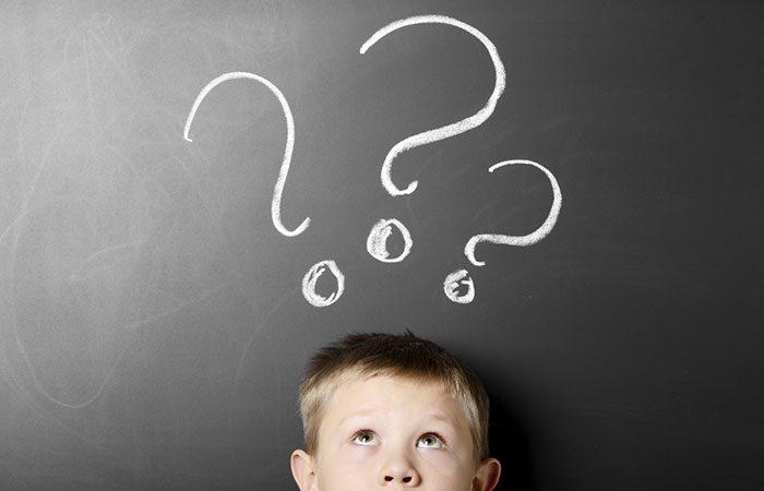 سوال پرسیدن کودکان