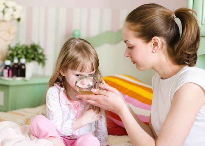تغذیه کودک بیمار