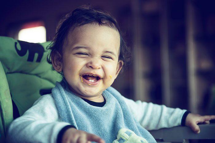 صحبت کردن کودکان در جمع - تشویق