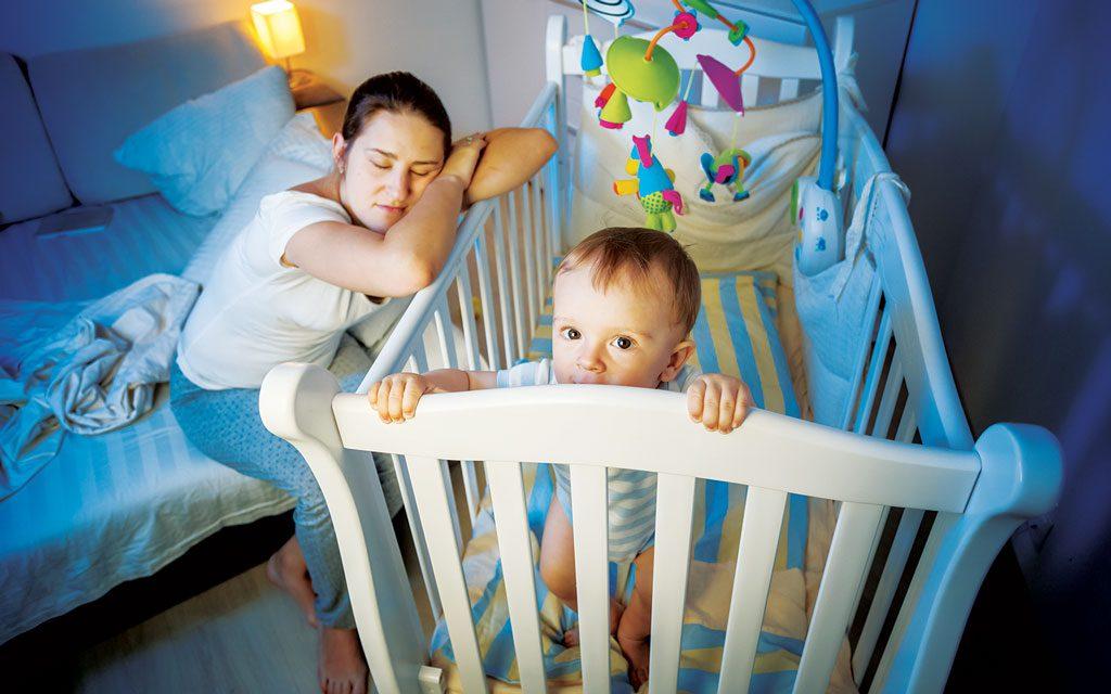 بدخوابی کودک در اثر چه عواملی است