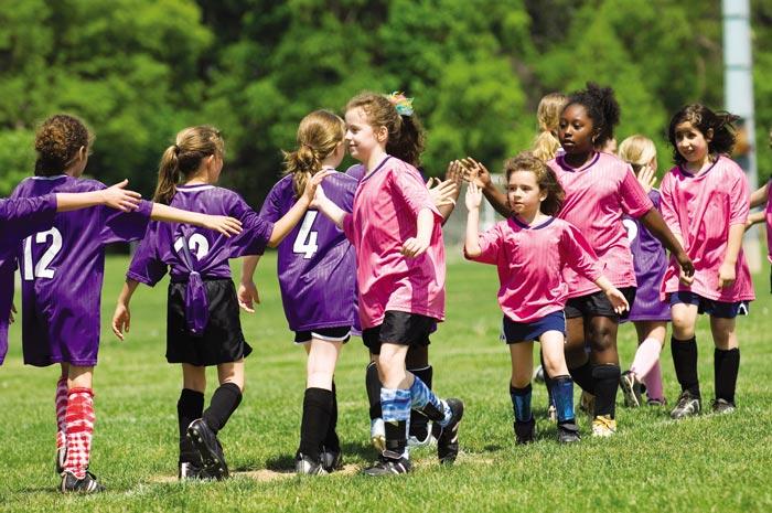 امنیت کودکان هنگام ورزش