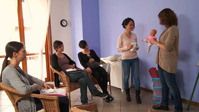 آموزش شیردهی قبل از تولد