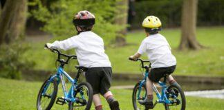 دوچرخه سواری کودکان