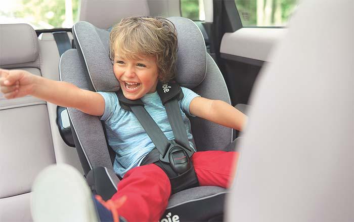 اندازه صندلی کودک در ماشین