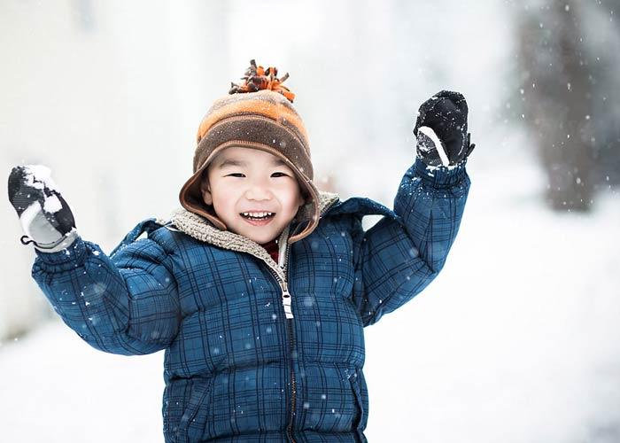 محافظت از کودک در فصل زمستان