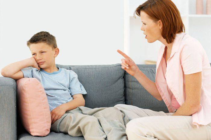 رفتار با کودک نافرمان