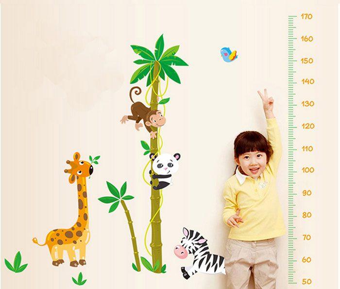 اندازه گیری قد کودک