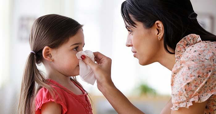تمیز کردن بینی